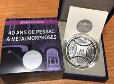 France 2013 La Semeuse 10 euro Silver Proof - Francia € silber argent Pessac