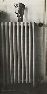 1949 Brassai Original Photo Gravure Of Picasso 1943 Wood Head Radiator Sculpture