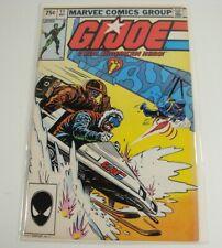 1983 GI Joe G.I.Joe Marvel Comic #11 Snow Job