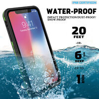 For Apple iPhone XR Xs Max Case Life Waterproof Dropproof Dirtproof Snowproof