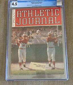 1966 Pete Rose Cincinnati Reds Athletic Journal 1ST MAGAZINE RC RARE CGC 4.5