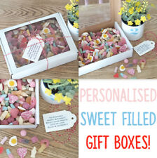 Big 900g Personalised Retro Sweet Gift Box Birthday Father's Day Thank You Dad
