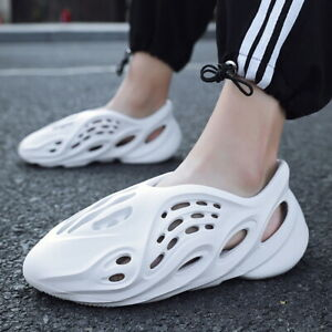 Womens Mens Summer Casual Shoes Outdoor Sandals Hole Shoes Couples Beach Slipper