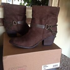 Coconuts By Matisse Hype Womens Brown Ankle Boot 7M MSRP $89