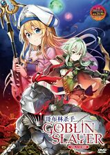 DVD Goblin Slayer the Complete Anime Series English Dubbed 12 Episodes