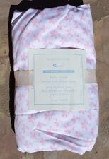 POTTERY BARN KIDS ~ BABY CLOVER SATEEN CRIB FITTED SHEET in PINK