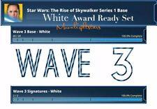 Topps Star Wars Card Trader - Rise Of Skywalker White Award Ready Set (Wave 3)