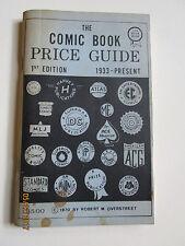 RARE 1970 OVERSTREET COMIC BOOK PRICE GUIDE # 1  NICE FINE + CONDITION