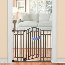 Extra Tall Walk Thru Child Safety Gate Baby Toddler Dog Pet Doorway Stairs Fence