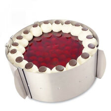 CERCLE A PATISSERIE Tondo réglable de 4smile – Made in Germany | cadre...