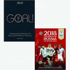 Michael Donald Collection Book Goal 2018 FIFA World Cup Russia 2 Books Set NEW