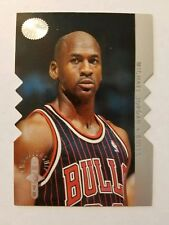 Michael Jordan 1995-96 SP Championship Shots #S16 Die Cut Insert