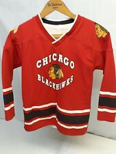 Youth  Mighty-Mac Sorts NHL Chicago Blackhawks Reversible Jersey