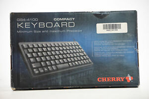 Cherry Compact Keyboard G84-4100PTMUS