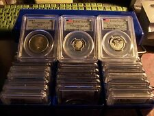 ( LOT OF3) SILVER COINS CERTIFIED BY PCGS- RANDOMLY PULLED 3 TOTAL LOT#2
