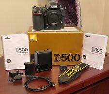Nikon D500 20.9 MP Digital SLR Camera dSLR, Original box and Accessories !