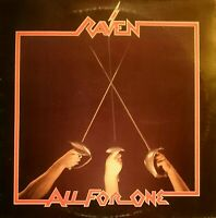 RAVEN - All for one (1983) NEAT 1012 Vinyl LP (Italy) cleaned!