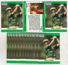 Lot of 631 1990 Pro Set Payne Stewart #1 Short Print Cards