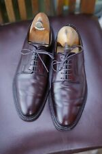 Fantastic Crockett & Jones Size 6E #8 Burgundy Horween Cordovan 'Ashdown' Derby