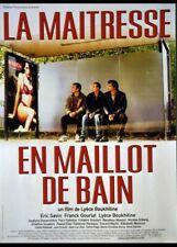 affiche du film MAITRESSE EN MAILLOT DE BAIN (LA) 40x60 cm