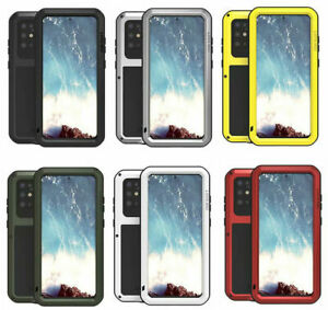 LOVE MEI Shockproof Heavy Duty Metal Case Cover For Samsung Galaxy S20 & S20 +