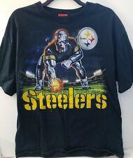 Vintage Pittsburgh Steelers, Ironman T Shirt Nfl Football, 2Xl, 100%Cotton