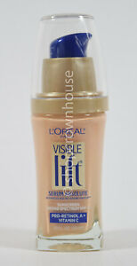Loreal Visible Lift Serum Absolute Age Reversing SPF 17 #144 LIGHT IVORY 02/22