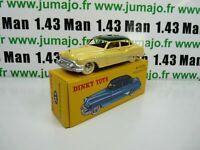 Voiture 1/43 réédition DINKY TOYS atlas 24V BUICK Roadmaster jaune coffret