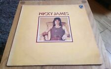 Nicky James  Self Titled Debut Vinyl LP Philips 6308069 Rare White Label Promo
