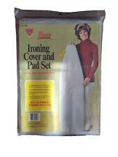 Vintage Ironing Board Cover & Pad #526 Teflon By Hemlast All In One New!