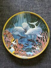 "Lenox ""Let's Play"" By Van Raemdonck Sea of Dreams Collector Plate 8"" 1994"