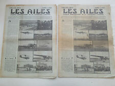 AILES 1933 620 BOEING 247 COUPE DEUTSCH HM8 AVIATION MARCHANDE BOURGET VOL VOILE
