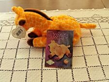 Ty Beanie Baby Twigs the Giraffe With Official Club Card Swing Tag Waterlooville