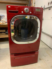 Dryer Lg, Model Dlgx3002R, Lp Gas, Red, 7.4 cu ft.