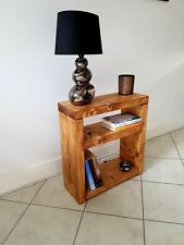 Rustic Bedside Table /Side Table/Sofa Table/Telephone Table/Solid Pine Wood