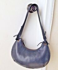 Vintage GUCCI Black Soft leather HOBO Bag