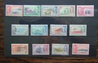 Cayman Islands 1950 set to 10s MM SG135 - SG147