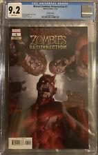 Marvel Zombies Resurrection #1 CGC 9.2 NM -Junggeun Yoon Variant Cover Daredevil