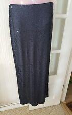 ladies Phase Eight sequin shimmer sparkle full length skirt size 8