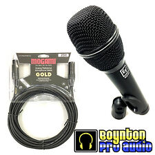 Electro-Voice ND86 Dynamic Supercardioid Vocal Microphone *FREE MOGAMI XLR CABLE