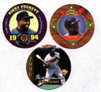 KIRBY PUCKETT - 1994, 1995 & 1996 KING B DISCS TWINS - #DL_#3L
