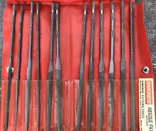 Simonds Needle Files Set No. 2 Swiss Made 12 Wallace Murray