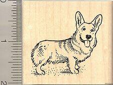 Pembroke Welsh Corgi dog rubber stamp G9407 WM