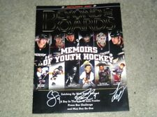 Anaheim Ducks Multi Autographed Game Magazine Perry/Fowler/Getzlaf/Ryan