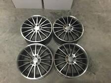 "19"" C63 AMG Style Wheels - Gun Metal Machined Mercedes C E Class W204 W205 W212"