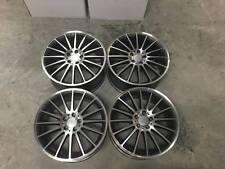 """19"""" C63 AMG Style Roues-Gun Metal usiné Mercedes C E Classe W204 W205 W212"""