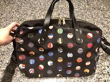 Paul Smith Black Jersey Dot Briefcase Attache Bag