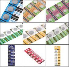 5/10pcs AG4 AG6 AG10 AG13 CR2032 CR1220 CR1616 CR1632 Button Coin Cell Batteries
