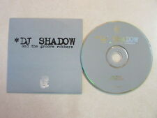 DJ SHADOW AND THE GROOVE ROBBERS IN/FLUX HINDSIGHT CD SINGLE HIP HOP ABSTRACT