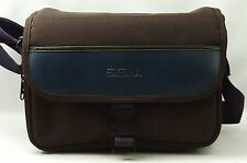 @ U-$50 w/ Shipping! @ Vintage Sigma Black Fabric Camera Bag w/ Acc Compartments